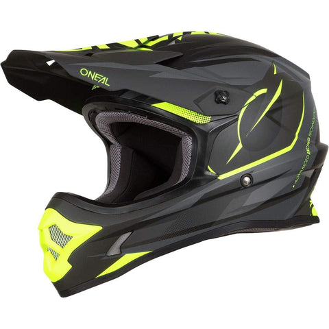 O'Neal Unisex-Adult Off Road 3SERIES Helmet (RIFF) (Black, Large)