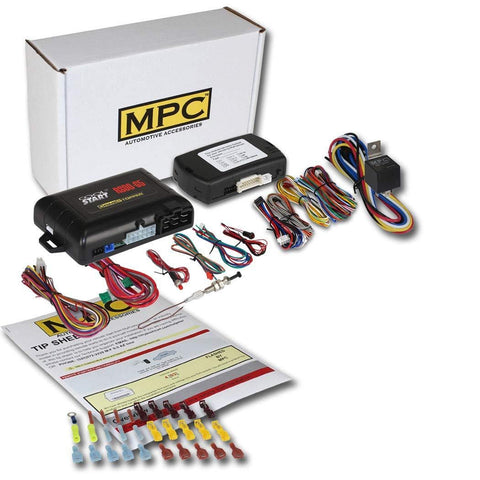 MPC Factory Remote Activated Remote Start Kit for 2010-2019 Hyundai Tucson - Push-to-Start - Firmware Preloaded
