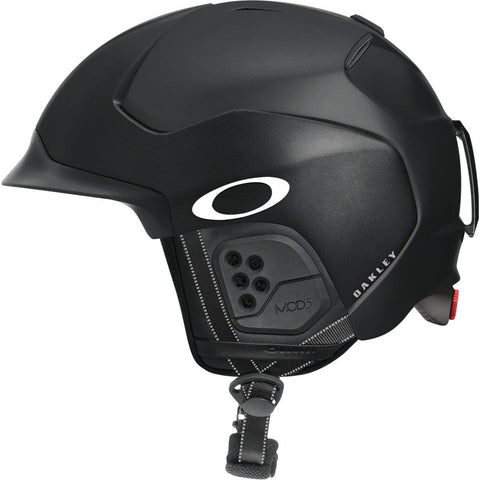 Oakley Mod5 Snow Helmet, Matte Black, Large