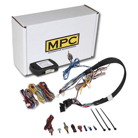 MPC Complete Factory Remote Activated Remote Start Kit for 2010-2018 Chevrolet Cruze - with T-Harness and FlashLink Updater - Firmware Preloaded