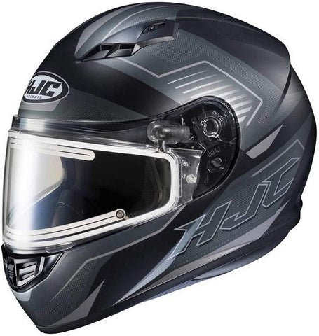 HJC CS-R3 Trion Adult Snowmobile Helmet with Electric Shield - MC-5SF / Large