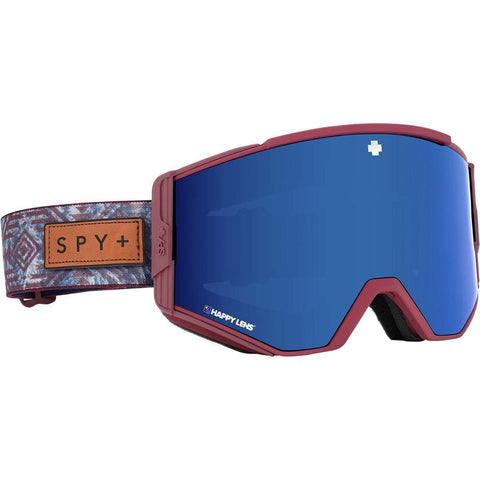 Spy Optic Ace Native Nature Red Happy Rose W/Dark Blue Spectra One Size