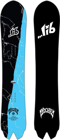 Lib Tech X Lost Round Nose Fish Colab Snowboard Mens Sz 165