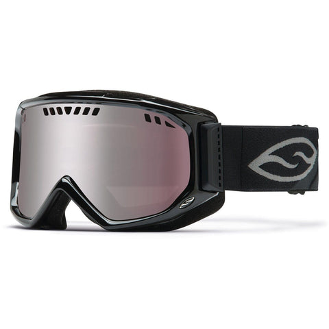 Smith Optics Adult Scope Snow Goggles,Black Frame/Ignitor Mirror