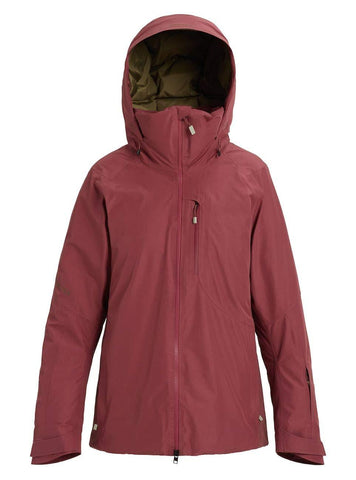 Burton Women's Women's Ak Gore-tex Flare Down Jacket, Rose Brown, Small