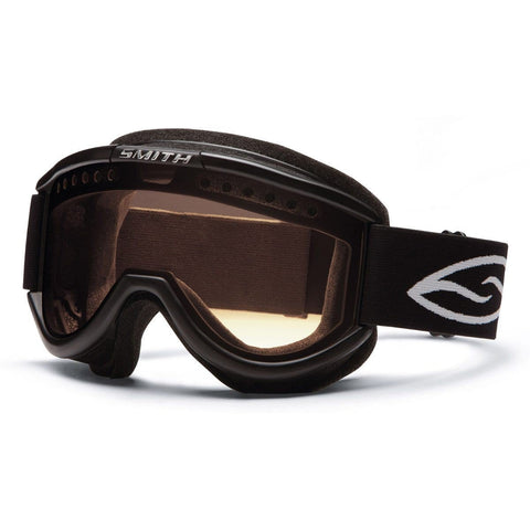 Smith Optics Cariboo OTG Adult Airflow Series Snocross Snowmobile Goggles Eyewear - Black/Clear/Medium