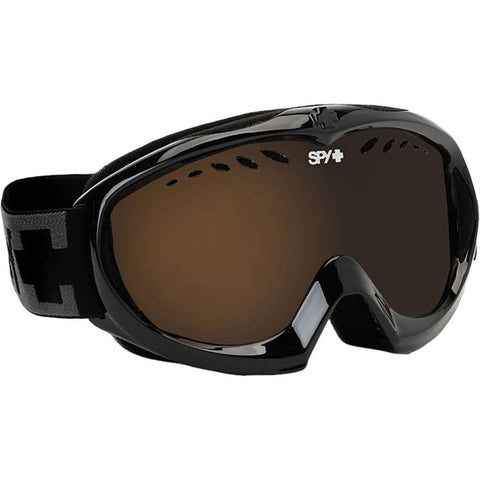 Spy Optic Targa Mini Goggle (Black, Bronze with Silver Mirror)