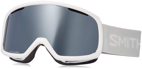 Smith Optics Riot Goggle White Vapor/Chromapop Sun Platinum Mirror/Yellow One Size