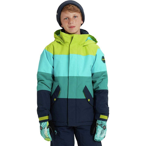 Burton Boys' Symbol Jacket, Tender Shoots Multi, X-Large