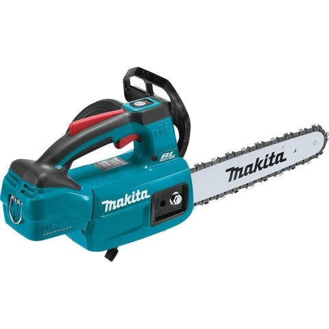 "Makita XCU06Z LXT Lithium-Ion Brushless Cordless 10"" Top Handle Chain Saw, Tool Only"
