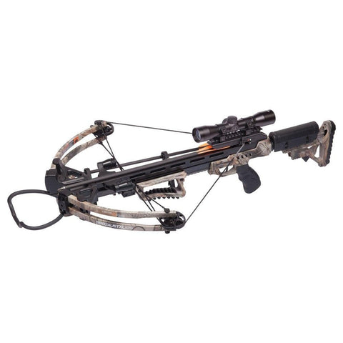 "CenterPoint AXCSPE185CK Compound Crossbow with 3 20"" Carbon Arrows, One Size"
