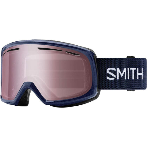 Smith Optics Drift Adult Snowmobile Goggles - Metallic Ink/Ignitor Mirror/One Size