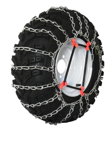 Grizzlar GTU-240 Garden Tractor Snowblower 2 Link Ladder Alloy Tire Chains Tensioner Included 4.00/4.80-8 4.80-8 4.00-8