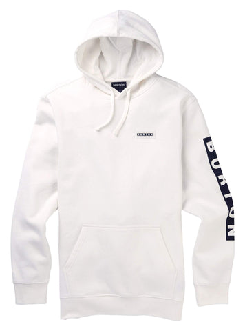 Burton Men's Men's Vault Pullover, Stout White, Small