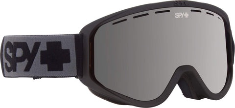 Spy Optic Woot Snow Goggles, One Size (Matte Black Frame/Silver Mirror + Persimmon Lens)