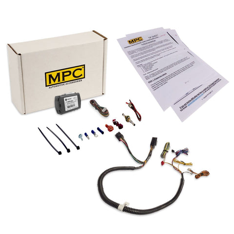 MPC Complete Factory Remote Activated Remote Start Kit for 2008-2010 Dodge Journey - Prewired - w/T-Harness