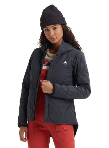 Burton Women's Kiley Hooded Insulator,  Phantom,  Medium