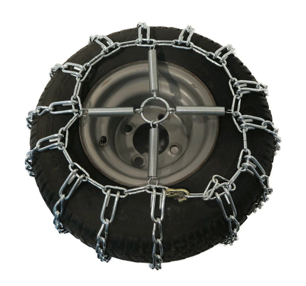 the rop shop 2 link tire chains  u0026 tensioners 23x9 5x12 for