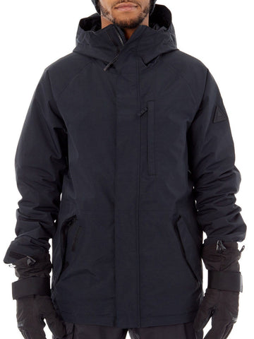 Burton Men's Gore-Tex Radial Snowboard Jacket (True Black, Small)