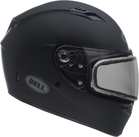 Bell Qualifier Dual Shield Snow Helmet (Matte Black, Large)