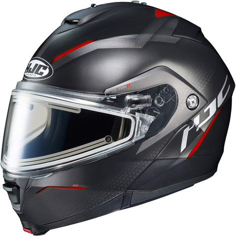 HJC IS-MAX 2 Dova Men's Snowmobile Helmet With Electric Shield - MC-1SF / X-Large