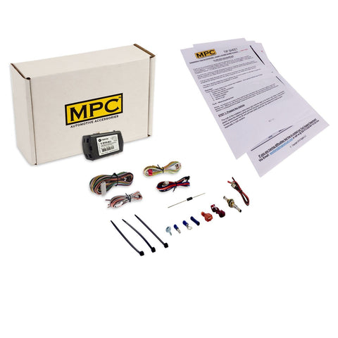 MPC Factory Remote Activated Remote Start Kit for 2019 Toyota RAV4 - Push-to-Start - Firmware Preloaded