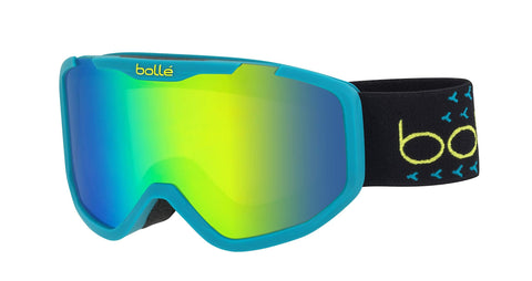 Bolle Rocket Plus Green Emerald, Matte Blue & Black, Small