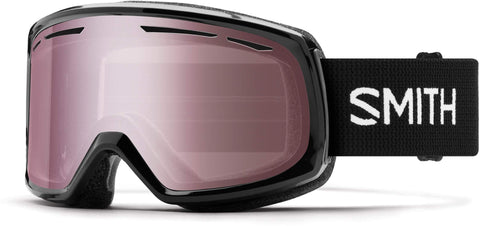 Smith Optics Womens Drift Snow Goggles Black Frame/Ignitor Mirror