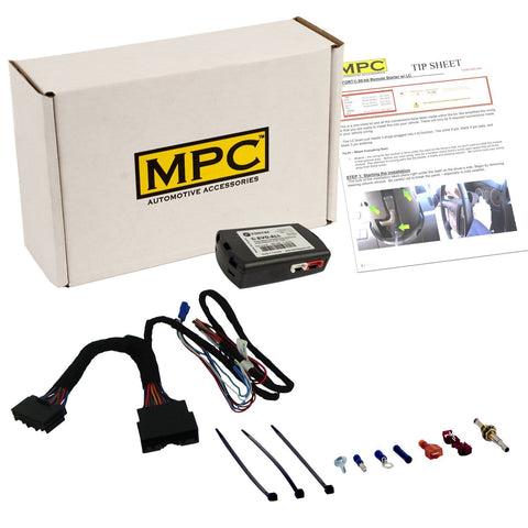 MPC Plug-n-Play Factory Remote Activated Remote Start Kit for 2015-2018 Ford F-150 Key-to-Start ONLY - Firmware Preloaded