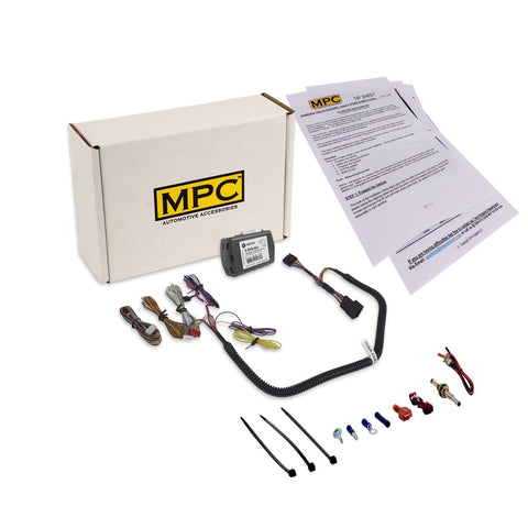 MPC Factory Remote Activated Remote Start Kit for 2008-2013 Dodge Avenger - Plug-n-Play - Key-to-Start - Firmware Preloaded