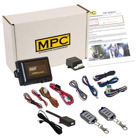 MPC Complete 4-Button Remote Start Keyless Entry Kit for 2002-2004 Ford F-250 - Firmware Preloaded