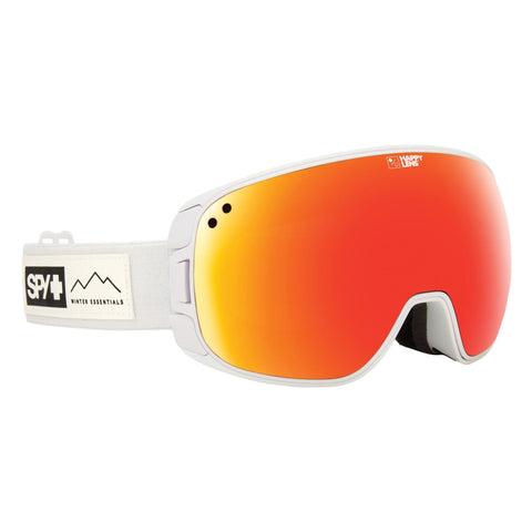 Spy Optic Bravo Essential White/Happy Gray Green/Red Sepctra/Happy Yellow/Lucid One Size