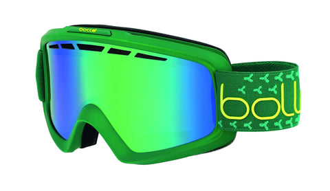 Bolle Nova Ii Green Emerald, Matte Green & Lime, Medium/Large