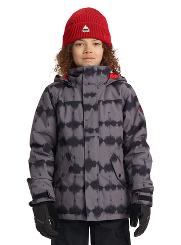 Burton Boys' Symbol Jacket, Blowout Stripe, Small