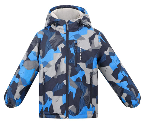 Arctic Paw Boys Winter Snowboard Coats Fleece Liner Snow Jacket Boys, Boy_8_7-8Y