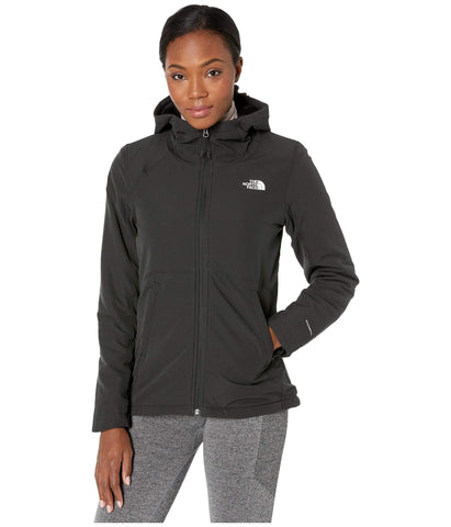 The North Face Women's Shelbe Raschel Hoodie, TNF Black, Large