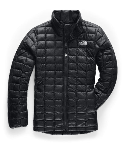 The North Face Girls' Thermoball Eco Jacket, TNF Black, Large