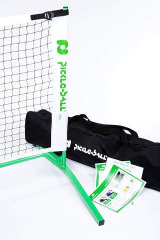 3.0 Portable Pickleball Net System (Set Includes Metal Frame and Net in Carry Bag) | Durable and Easy to Assemble [product _type] Pickle-Ball - Ultra Pickleball - The Pickleball Paddle MegaStore