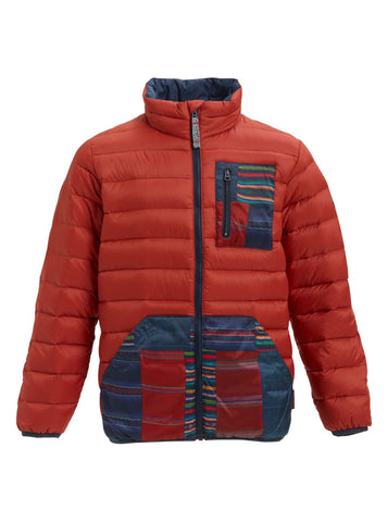 Burton Boys Evergreen Insulator, Bitters/Mountain Sherpa, Large