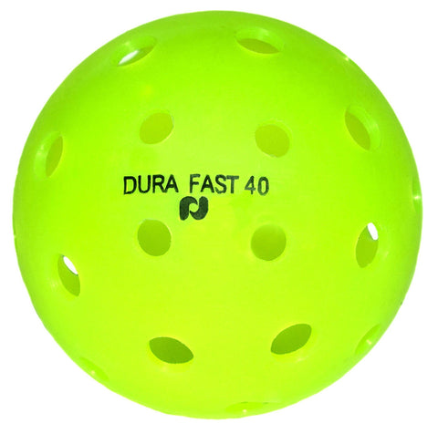 Dura Fast 40 Pickleballs | Outdoor pickleball balls | Neon | Dozen/Pack of 12 | USAPA Approved and Sanctioned for Tournament Play, Professional Perfomance [product _type] Pickle-Ball - Ultra Pickleball - The Pickleball Paddle MegaStore