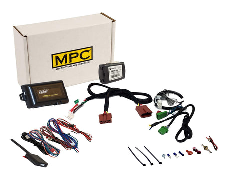 MPC 5-Button Keyless Entry Remote Start Kit for 2007-2011 Honda CR-V - Includes T-Harness - Plug-n-Play