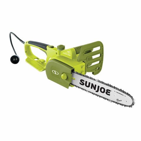 Sun Joe SWJ698E 12-inch 9-Amp Electric Chain Saw with Kickback Safety Brake