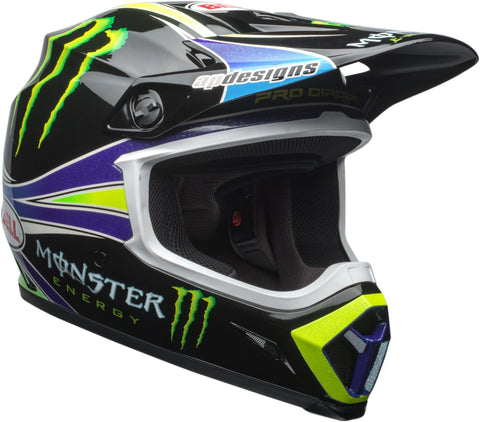 Bell MX-9 MIPS Off-Road Motorcycle Helmet (Pro Circuit Replica 18.0 Gloss Green, XX-Large)
