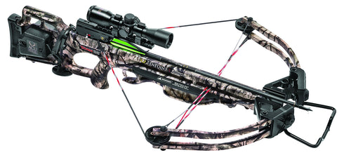TenPoint CB16047-7522 Titan SS Crossbow Package with 3X Pro-View 2 Scope, ACUdraw, 3 Pro-Elite Carbon Arrows, and 3-Arrow Instant Detach Quiver