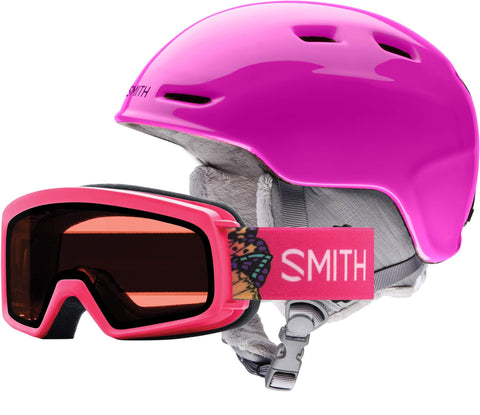 Smith Optics Zoom Jr/Rascal Combo Youth Snow Goggles - Pink/Youth Small