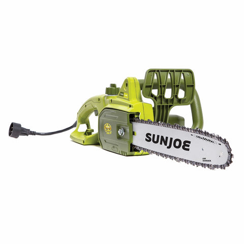 Sun Joe SWJ699E 14-Inch 9.0 Amp Electric Chain Saw, Green