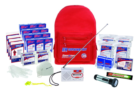 ER Emergency Ready SKBP4SS 4 Person Deluxe Backpack Survival Kit