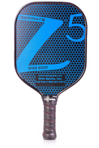 ONIX Graphite Z5 Pickleball Paddle (Graphite Carbon Fiber Face with Rough Texture Surface, Cushion Comfort Grip and Nomex Honeycomb Core for Touch, Control, and Power) [product _type] Onix - Ultra Pickleball - The Pickleball Paddle MegaStore