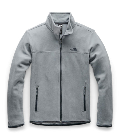 The North Face Women's TKA Glacier Full Zip Jacket, Mid Grey/Mid Grey, S