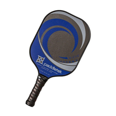 Paddletek Tempest Wave Graphite Pickleball Paddle [product _type] Paddletek - Ultra Pickleball - The Pickleball Paddle MegaStore